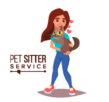 Coral Terrace pet grooming by independent pet sitters